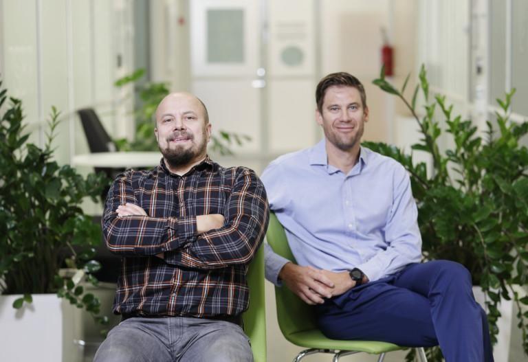 Tommi Auvinen ja Heikki Karjaluoto